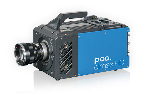 pco.dimax HD/HD+ highspeed camera prefront left side view image